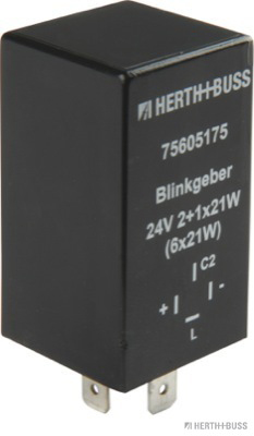 Centrale clignotante HERTH+BUSS ELPARTS 75605175 (X1)