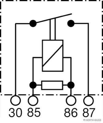 Centrale clignotante HERTH+BUSS ELPARTS 75613192 (X1)