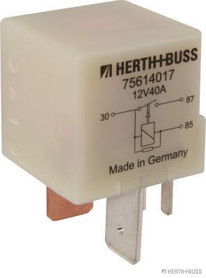 Relais de prechauffage HERTH+BUSS ELPARTS 75614017 (X1)