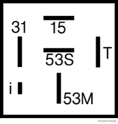Moteur HERTH+BUSS ELPARTS 75614020