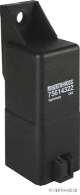 Relais de prechauffage HERTH+BUSS ELPARTS 75614322 (X1)