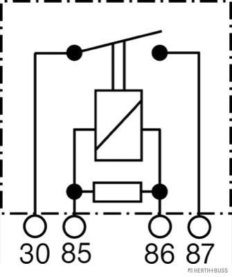 Moteur HERTH+BUSS ELPARTS 75614614 (X1)