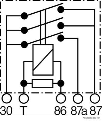 Moteur HERTH+BUSS ELPARTS 75614616 (X1)