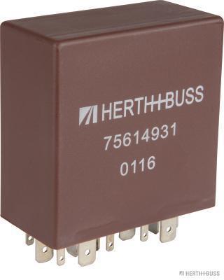 Relais, intervalle d'essuyage HERTH+BUSS ELPARTS 75614931 (X1)