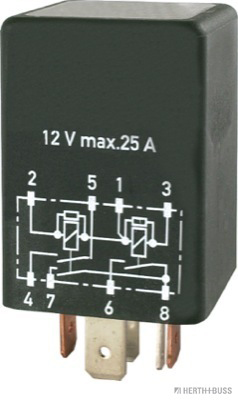 Relais de climatisation HERTH+BUSS ELPARTS 75898207 (X1)