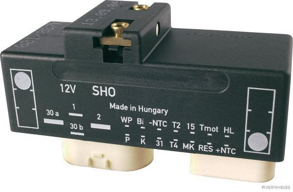 Relais, chasse du ventilateur de radiateur HERTH+BUSS ELPARTS 75898972 (X1)