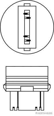 Ampoule, feu stop additionnel (Jeu de 10)