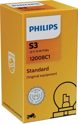 Ampoules PHILIPS 12008C1 (X1)