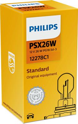 Ampoules PHILIPS 12278C1 (X1)