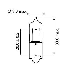 Ampoule, feu diurne (X1)