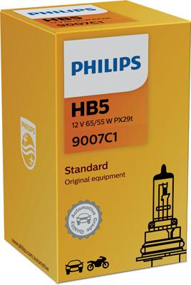 Ampoules PHILIPS 9007C1 (X1)