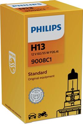 Ampoules PHILIPS 9008C1 (X1)