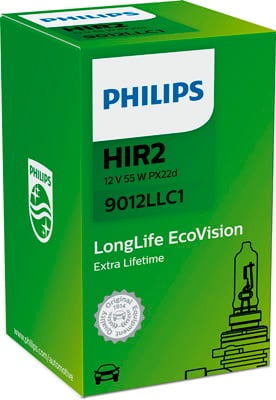 Ampoules PHILIPS 9012LLC1 (X1)