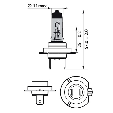Ampoules PHILIPS 12972WVUB1 (X1)