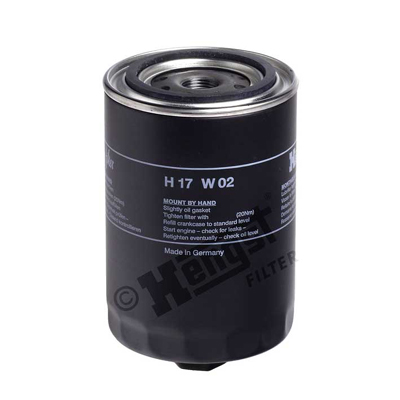 Filtre a  huile HENGST FILTER H17W02 (X1)