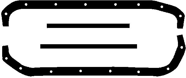 Joint de carter d'huile GLASER E30192-00 (X1)