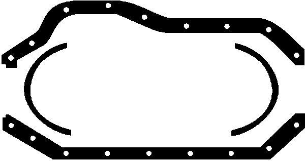 Joint de carter d'huile GLASER E30514-00 (X1)