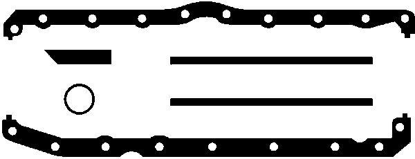 Joint de carter d'huile GLASER E37007-00 (X1)