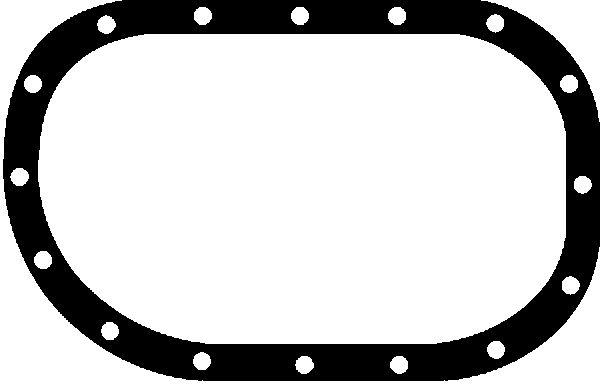 Joint de carter d'huile GLASER X02656-01 (X1)