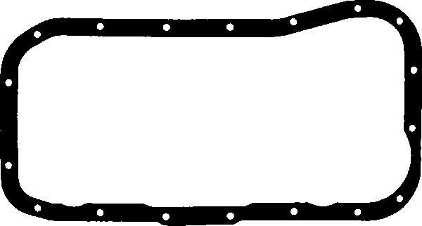 Joint de carter d'huile GLASER X05073-01 (X1)