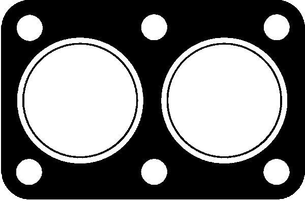 Joint d'echappement GLASER X05433-01 (X1)