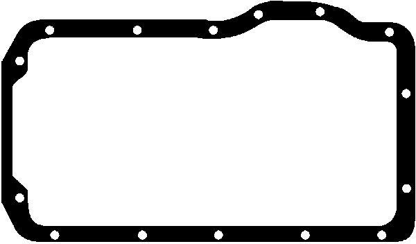 Joint de carter d'huile GLASER X05920-01 (X1)