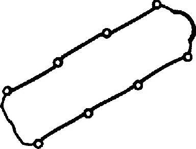 Joint de cache culbuteurs GLASER X53809-01 (X1)