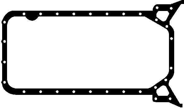 Joint de carter d'huile GLASER X54089-01 (X1)