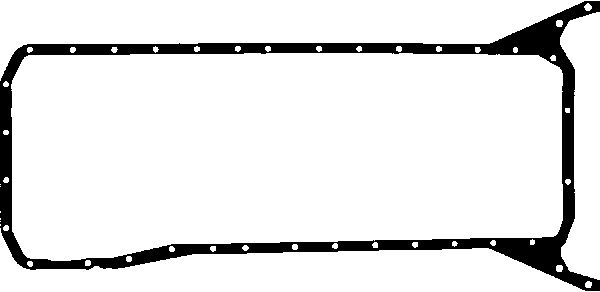Joint de carter d'huile GLASER X54486-01 (X1)
