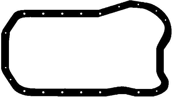 Joint de carter d'huile GLASER X54676-01 (X1)