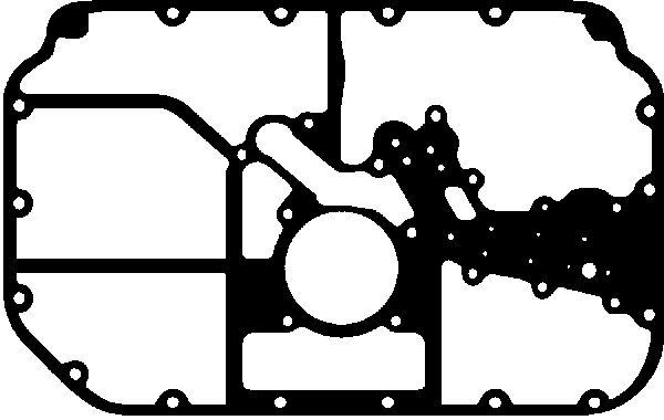 Joint de carter d'huile GLASER X57837-01 (X1)
