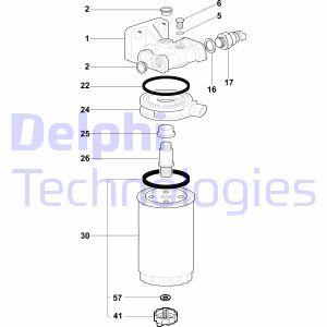 Filtration DELPHI 5872152 (X1)