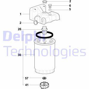 Filtration DELPHI 5872161 (X1)