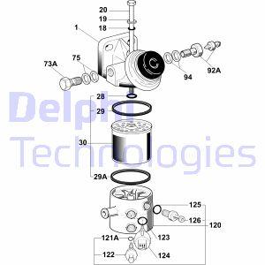 Filtration DELPHI 6260B620B (X1)