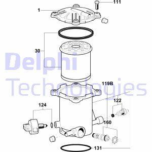 Filtration DELPHI 6350045 (X1)