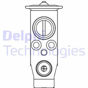 Detendeur de climatisation DELPHI CB1003V (X1)