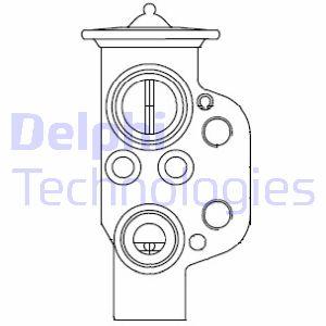 Detendeur de climatisation DELPHI CB1004V (X1)