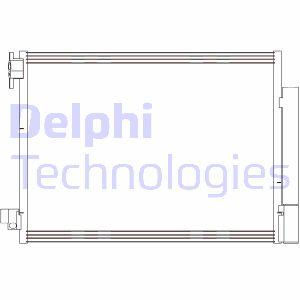 Condenseur / Radiateur de climatisation DELPHI CF20415 (X1)