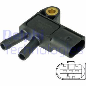 Capteur, pression des gaz échappement DELPHI DPS00013 (X1)