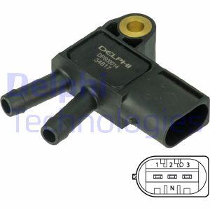 Capteur, pression des gaz échappement DELPHI DPS00014 (X1)
