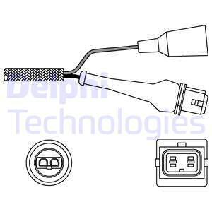 Sonde lambda DELPHI ES11000-12B1 (X1)