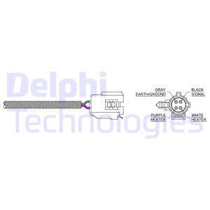 Sonde lambda DELPHI ES20044-12B1 (X1)