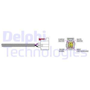 Sonde lambda DELPHI ES20228-12B1 (X1)