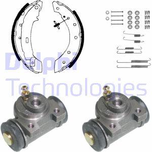 kit de frein arrière simple ou prémonté DELPHI KP951 (X1)