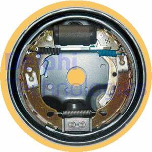 kit de frein arrière simple ou prémonté DELPHI LG15972 (X1)