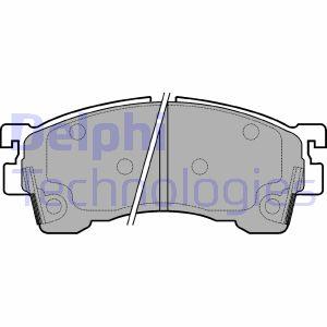 Freinage DELPHI LP1076 (X1)