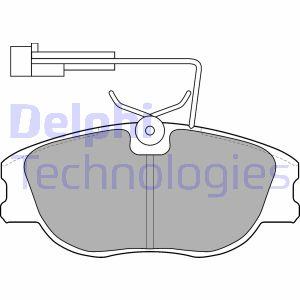 Freinage DELPHI LP1536 (X1)