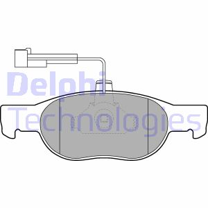 Plaquettes de frein DELPHI LP1585 (X1)