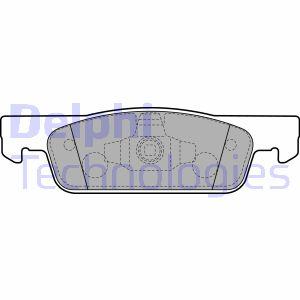 Plaquettes de frein avant DELPHI LP2479 (X1)