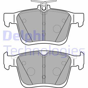 Plaquettes de frein arriere DELPHI LP2490 (X1)